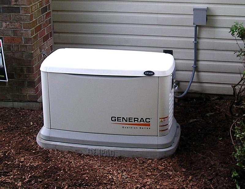 generator installation in Johnson City, TN